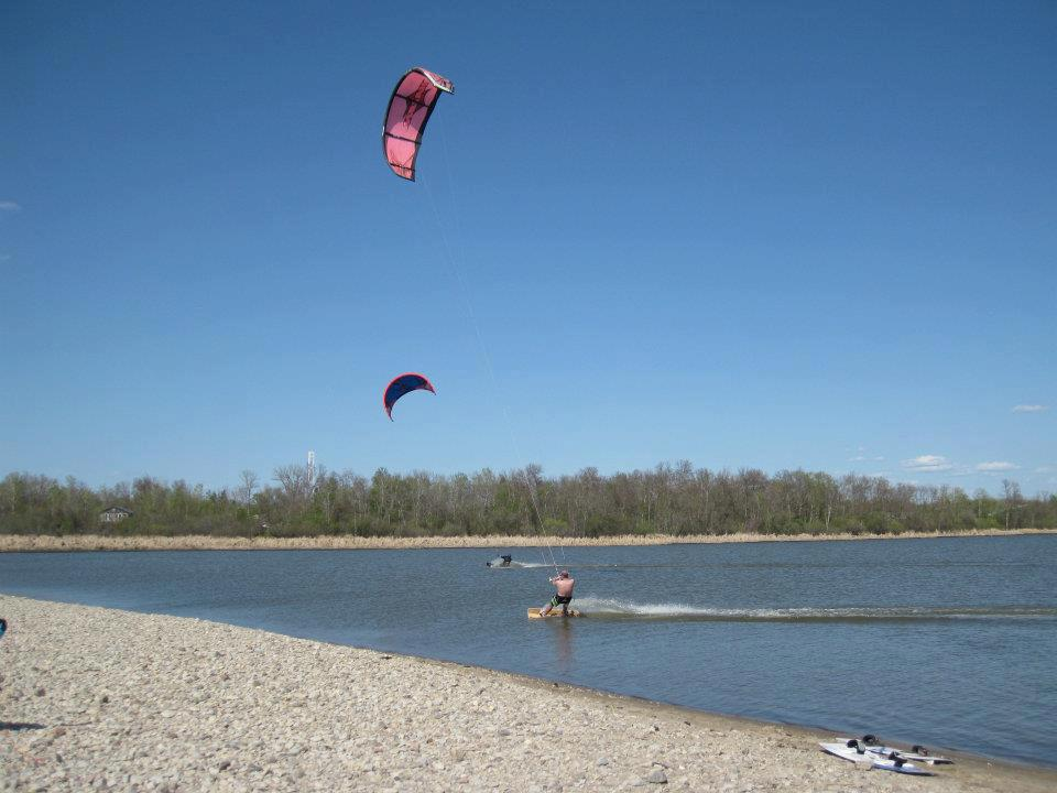 Aerial Kiteboarding in Winnipeg, MB